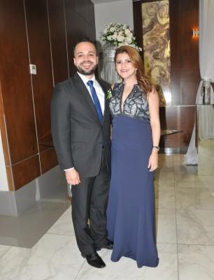 Julio Suazo y Karla Milla de Suazo