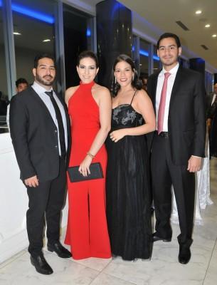 Luis Rodríguez, Laura Reyes, Daniela Prieto y Raniero López