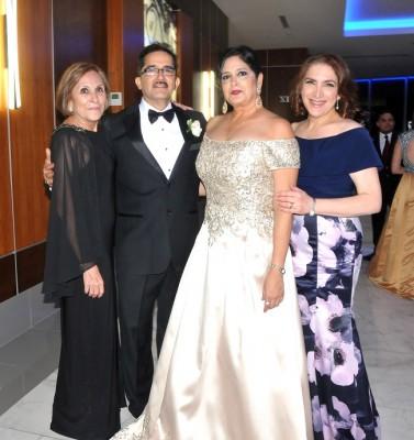 Mitti Sabillón, Carlos Enrique Naranjo, Rosa María Naranjo y Loris de Bendeck