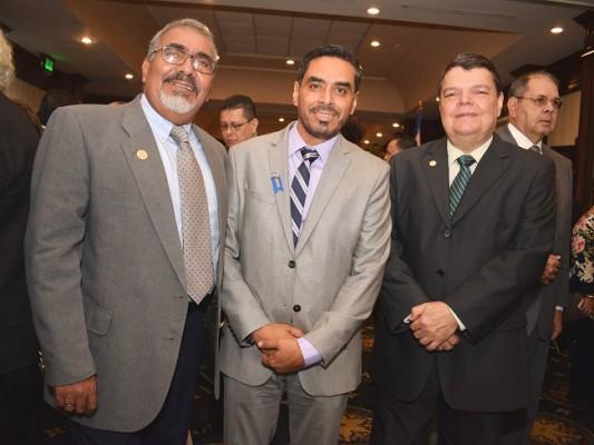 Ricardo Irias, Hector Mejia y Cenen Villanueva