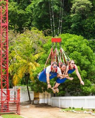 Sky Swing Roatán 2