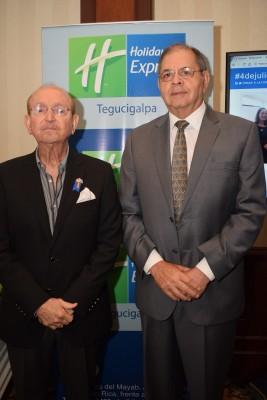 William Chahín y Roberto Leiva