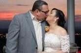 La boda de Xiomara y Alfredo…en una puesta de sol inolvidable