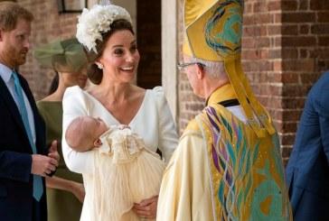 Los duques de Cambridge celebraron el bautismo de su tercer hijo, Louis