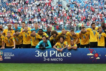 Bélgica se impuso a Inglaterra por 2-0 y consigue un histórico tercer puesto en una Copa del Mundo