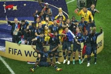Francia venció 4-2 a Croacia en una vibrante final y se consagra campeón del Mundial de Rusia 2018