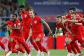 Inglaterra clasifica a cuartos de final tras vencer a Colombia en los penales