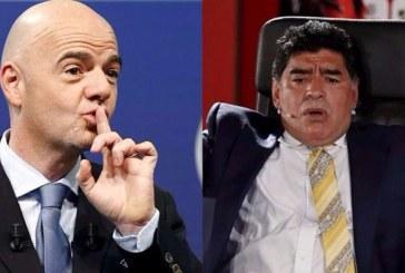 """La FIFA denuncia """"insinuaciones"""" de Maradona sobre el arbitraje en partido Colombia – Inglaterra"""