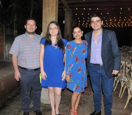 Adrián Gutiérrez, Sandra Guerra, Astrid Zerón, Jonathan Piña