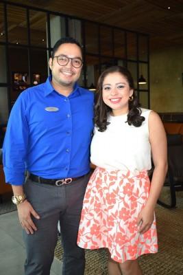 Adwin Padgett y Sandra Bonilla