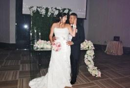 """La boda de Misael y Andrea…diversión y romanticismo en un auténtico """"Sí, quiero"""""""