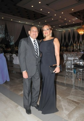 Armando López y Marielena Sikaffy de López