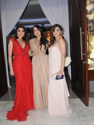 Carol Rodríguez, Dariela Pineda y Andrea Rodríguez