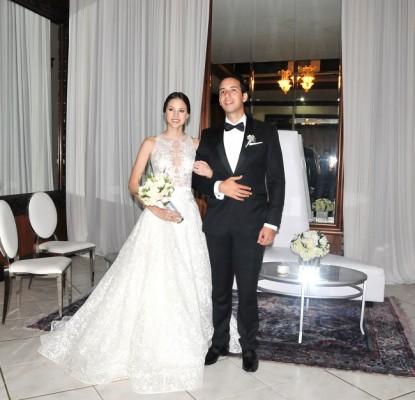 Eugenia Bendaña Prieto y Ricardo Dumas Canahuati disfrutan de su luna de miel en un destino sorpresa preparado amorosamente por el novio.