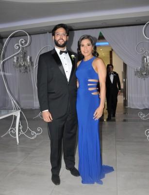 David Rivera y Liseth Durán