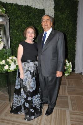 Emin Abufele y Marielena Abufele