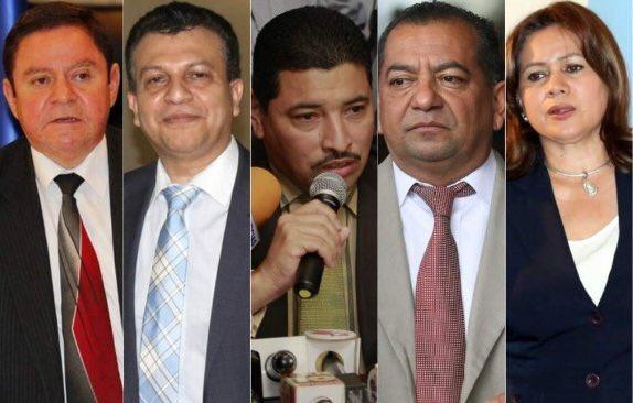 Envían a prisión a exmiembros del desaparecido Consejo de la Judicatura