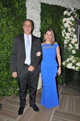 Felipe y Marielena Canahuati