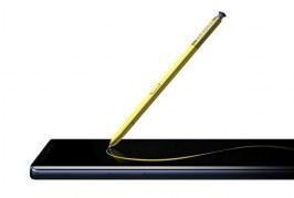 El S Pen conectado al Galaxy Note9 le permite funcionar como un control remoto
