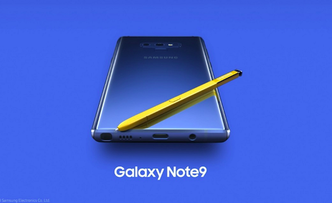 Samsung devela su nuevo y súper poderoso Galaxy Note 9