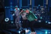 """J Balvin y Nicky Jam hicieron bailar a Jimmy Fallon al ritmo de """"X"""" y """"Mi Gente"""" en The Tonight Show"""