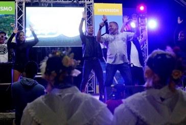 En Noche cultural:  Santa Cruz de Yojoa se mueve al ritmo de Sopa de Caracol