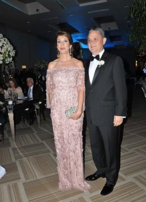 Los padres de la novia, Ricardo Bendaña y María Teresa de Bendaña