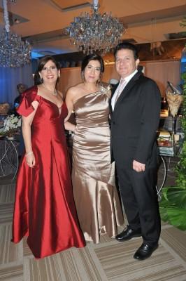 María Alexandra Vogelsan, Gissel y Jesús Canahuati