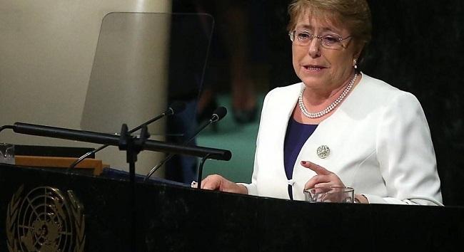 Postulan a Michelle Bachelet como Alto Comisionado de DD.HH de la ONU