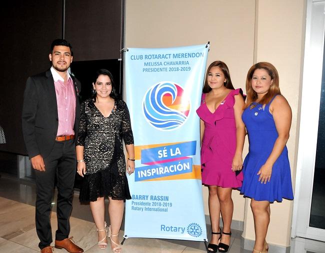Club Rotaract Merendón presenta junta directiva 2018-2019