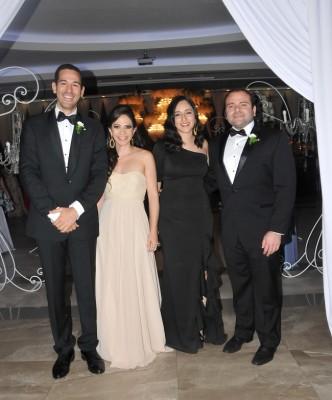 Roger Brito, Victoria Brito, Sara Santos y Karl Holst
