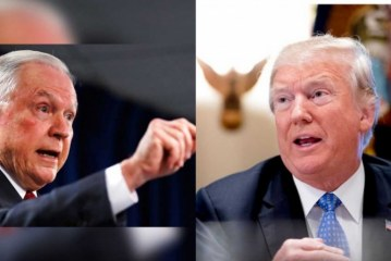 ¡Se dan con todo! Trump y Jeff Sessions elevan tono de disputa