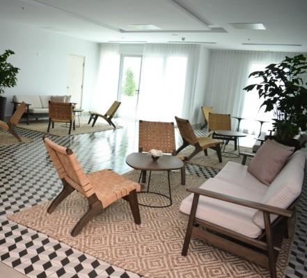 Una de las salas de estar en el Hyatt Place SPS