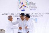 El Salvador se incorpora a la Unión Aduanera de Guatemala y Honduras