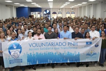 PN gradúa a primeros 400 voluntarios agentes de cambio positivo
