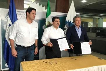 Intercambio comercial: CCIC firma convenio con  poderoso sector empresarial mexicano
