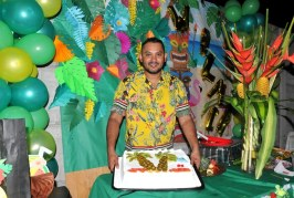 ¡Aloha! Wilmer celebró en su fiesta Hawaiiana