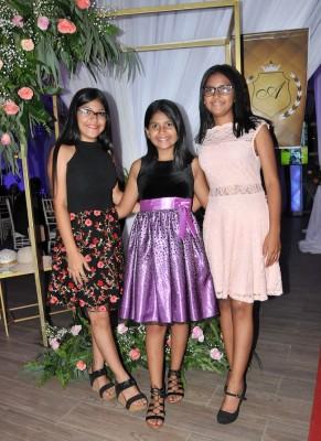 Jeimy, Nicole y Michelle Centeno