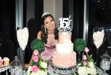Unos quince en rosa para la preciosa Valeria Lara