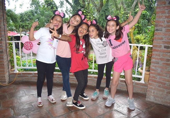 ¡Mhia Valeria celebró su cumpleaños con Minnie Mouse!