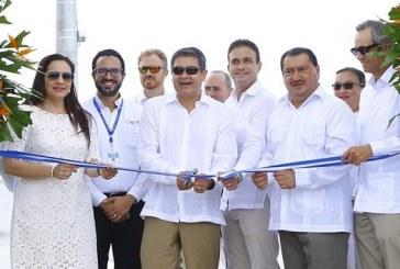 Modernización de instalaciones portuarias: Inauguran muelle número 6 en Puerto Cortés