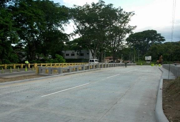 Este domingo habilitaran puente sobre quebrada Miramelinda