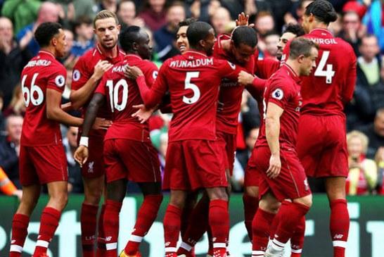 El Liverpool sigue con su buen momento y se impone 3-0 al Southampton