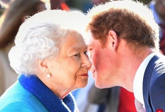 El príncipe Harry confiesa que le aterra encontrarse con su abuela la reina Isabel