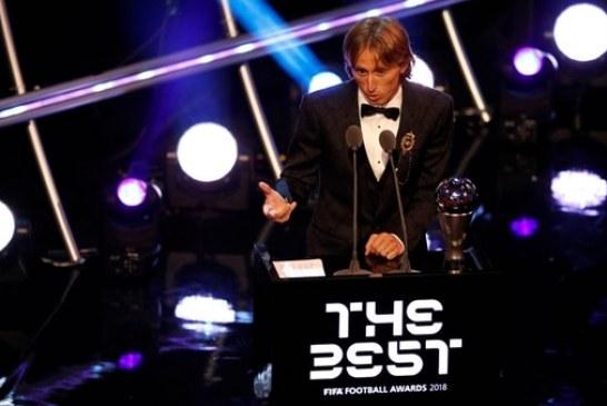 Deportes Luka Modric se lleva el premio The Best a mejor jugador del mundo