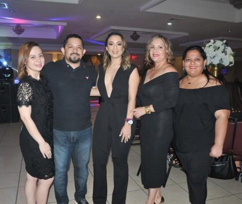 Nancy Rodriguez, Alex Calderon, Pamela Mejía Triminio y Lesbia Rodriguez