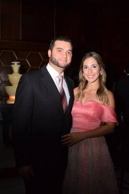 Antonio y Daniela Fonseca.