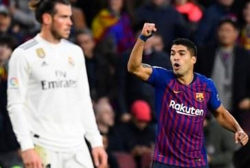 Con un triplete de Luis Suárez el Barcelona humilló 5-1 al Real Madrid