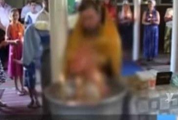 ¡Terrible! Bebé muere ahogado mientras era bautizado (+Video)