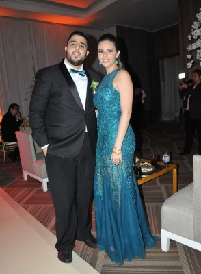César Jiménez y Giselle Bendaña